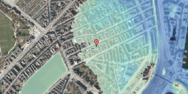 Stomflod og havvand på Willemoesgade 30, 1. th, 2100 København Ø