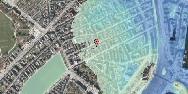 Stomflod og havvand på Willemoesgade 30, 1. tv, 2100 København Ø