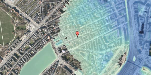 Stomflod og havvand på Willemoesgade 31, 1. tv, 2100 København Ø