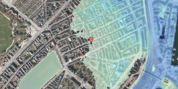 Stomflod og havvand på Willemoesgade 32, 2. , 2100 København Ø