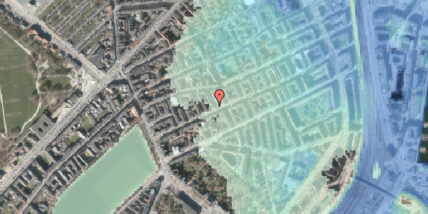 Stomflod og havvand på Willemoesgade 33, 1. tv, 2100 København Ø