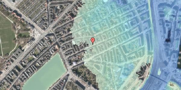 Stomflod og havvand på Willemoesgade 33, 2. tv, 2100 København Ø