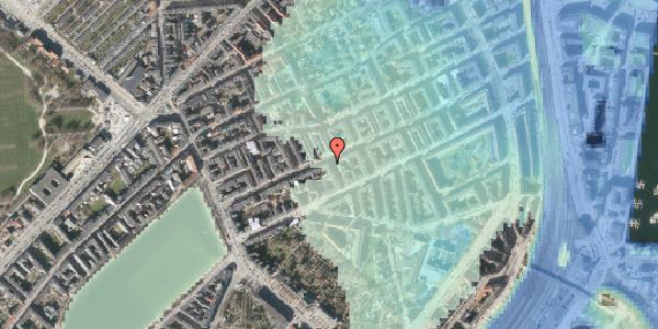 Stomflod og havvand på Willemoesgade 34, st. tv, 2100 København Ø