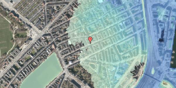 Stomflod og havvand på Willemoesgade 35, 1. tv, 2100 København Ø