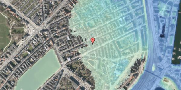 Stomflod og havvand på Willemoesgade 36, kl. 4, 2100 København Ø