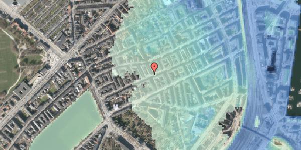 Stomflod og havvand på Willemoesgade 37, st. tv, 2100 København Ø