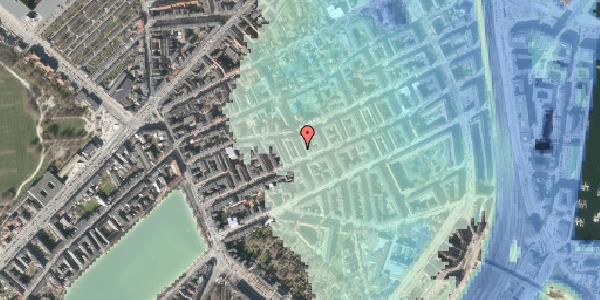 Stomflod og havvand på Willemoesgade 39, st. tv, 2100 København Ø