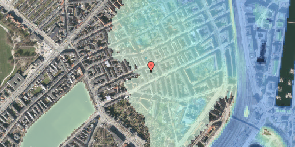 Stomflod og havvand på Willemoesgade 40, st. tv, 2100 København Ø