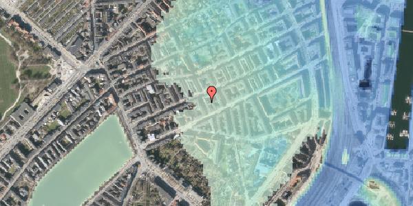 Stomflod og havvand på Willemoesgade 40, 1. tv, 2100 København Ø