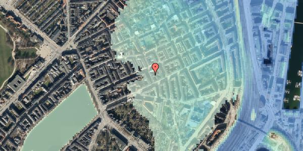 Stomflod og havvand på Willemoesgade 40, 2. tv, 2100 København Ø