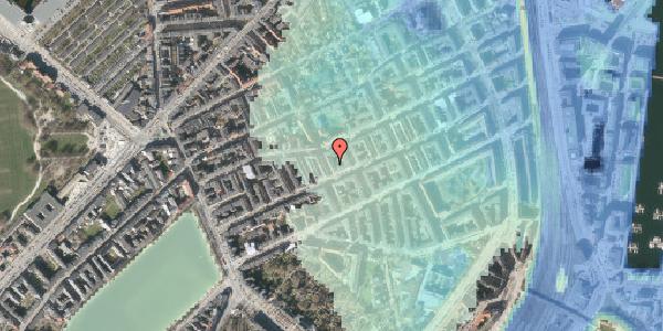Stomflod og havvand på Willemoesgade 41, 1. tv, 2100 København Ø