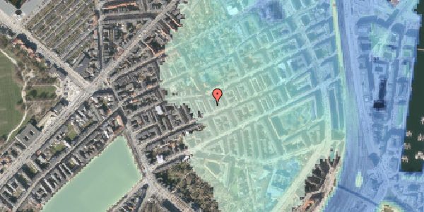 Stomflod og havvand på Willemoesgade 41, 4. th, 2100 København Ø