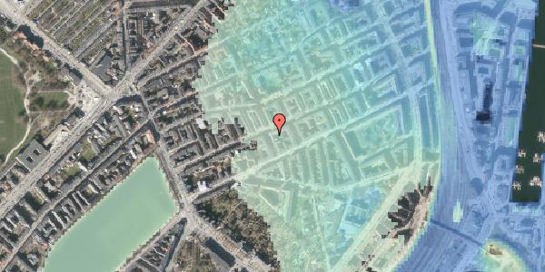 Stomflod og havvand på Willemoesgade 42, 1. tv, 2100 København Ø