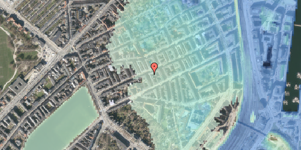 Stomflod og havvand på Willemoesgade 42, 2. th, 2100 København Ø