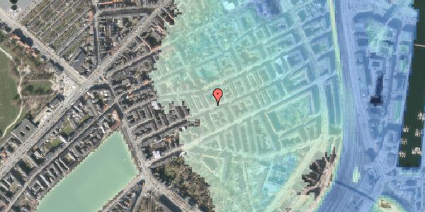 Stomflod og havvand på Willemoesgade 43, 1. tv, 2100 København Ø