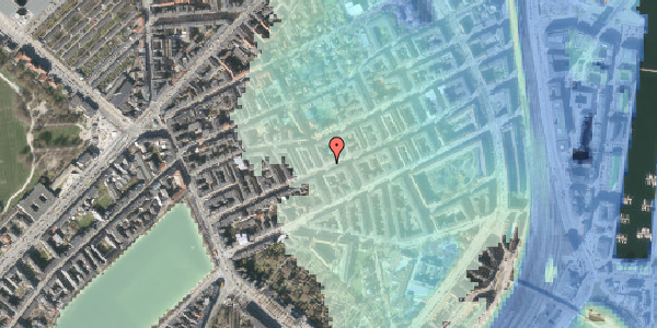 Stomflod og havvand på Willemoesgade 43, 2. th, 2100 København Ø