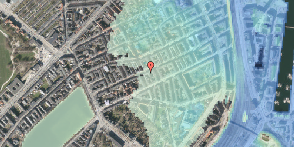 Stomflod og havvand på Willemoesgade 44, st. 3, 2100 København Ø