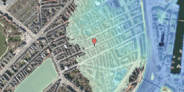 Stomflod og havvand på Willemoesgade 45, 2. , 2100 København Ø