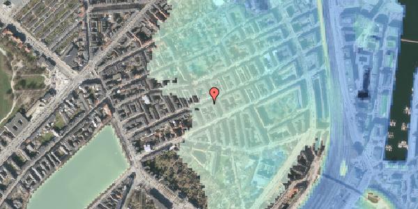 Stomflod og havvand på Willemoesgade 46, 1. tv, 2100 København Ø