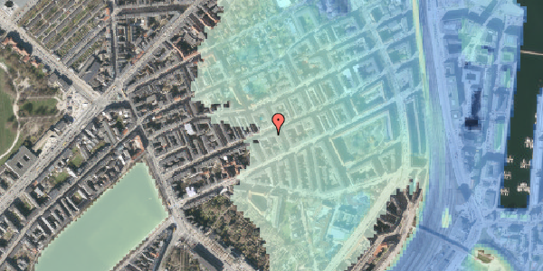 Stomflod og havvand på Willemoesgade 46, 4. tv, 2100 København Ø