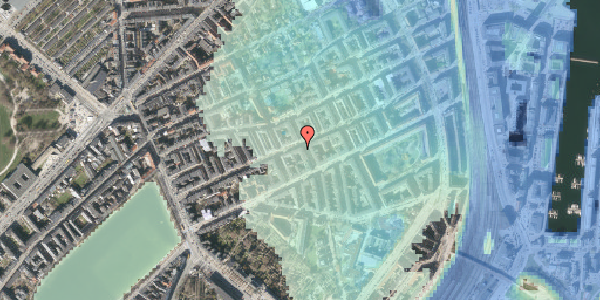 Stomflod og havvand på Willemoesgade 48, st. th, 2100 København Ø