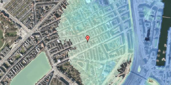 Stomflod og havvand på Willemoesgade 48, st. tv, 2100 København Ø