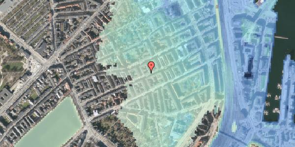 Stomflod og havvand på Willemoesgade 51, kl. th, 2100 København Ø