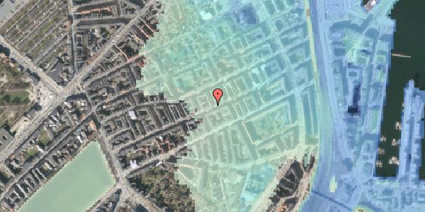 Stomflod og havvand på Willemoesgade 53, kl. tv, 2100 København Ø