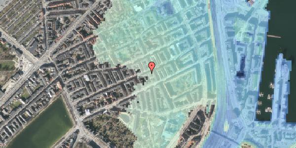 Stomflod og havvand på Willemoesgade 56, 1. , 2100 København Ø