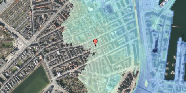 Stomflod og havvand på Willemoesgade 57, 2. , 2100 København Ø
