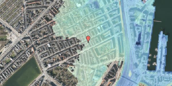 Stomflod og havvand på Willemoesgade 58B, 2100 København Ø
