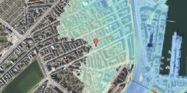 Stomflod og havvand på Willemoesgade 58C, 1. th, 2100 København Ø