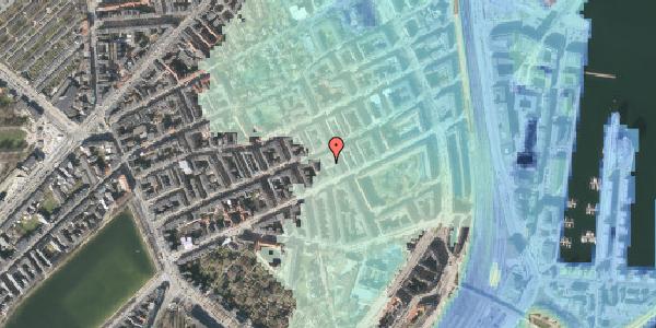Stomflod og havvand på Willemoesgade 58C, 4. th, 2100 København Ø