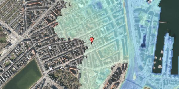 Stomflod og havvand på Willemoesgade 58, 3. tv, 2100 København Ø