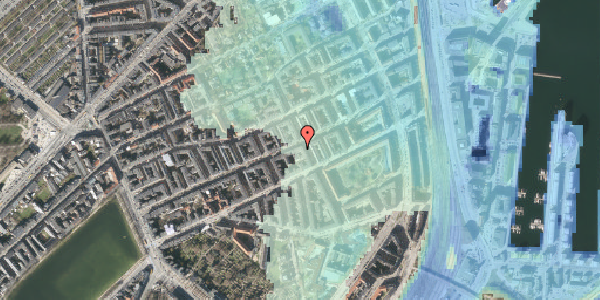 Stomflod og havvand på Willemoesgade 58, 4. mf, 2100 København Ø