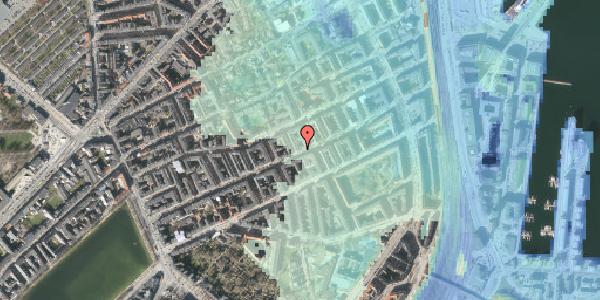 Stomflod og havvand på Willemoesgade 61, 1. tv, 2100 København Ø