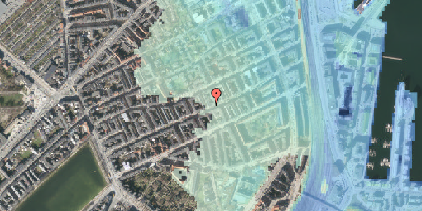 Stomflod og havvand på Willemoesgade 61, 4. tv, 2100 København Ø