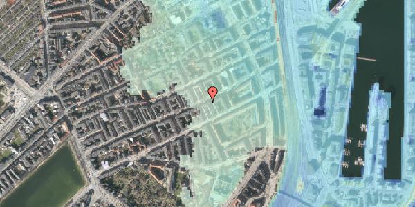 Stomflod og havvand på Willemoesgade 62, 3. tv, 2100 København Ø