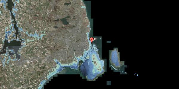 Stomflod og havvand på Willemoesgade 63, 4. , 2100 København Ø