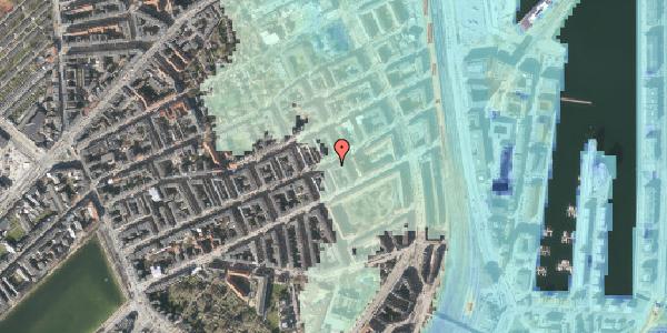 Stomflod og havvand på Willemoesgade 64, 4. tv, 2100 København Ø