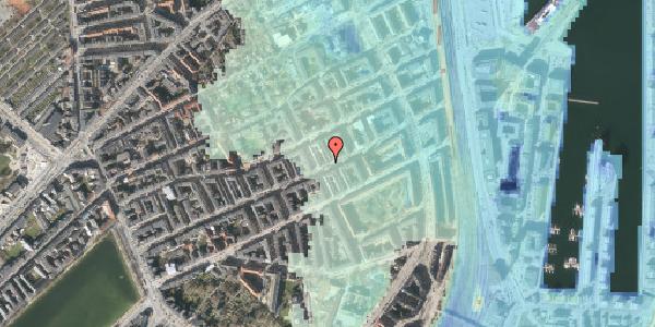Stomflod og havvand på Willemoesgade 67, 1. , 2100 København Ø