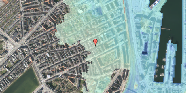 Stomflod og havvand på Willemoesgade 67, 4. , 2100 København Ø