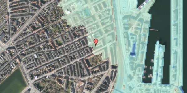 Stomflod og havvand på Willemoesgade 68, kl. 2, 2100 København Ø