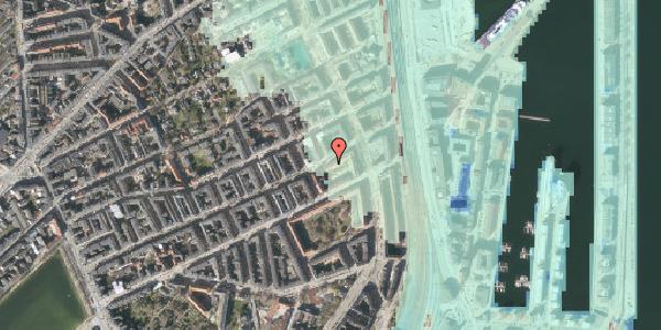 Stomflod og havvand på Willemoesgade 70, 1. 1, 2100 København Ø