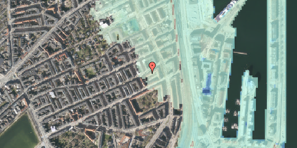 Stomflod og havvand på Willemoesgade 70, 2. 1, 2100 København Ø
