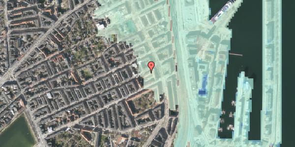 Stomflod og havvand på Willemoesgade 72, kl. , 2100 København Ø