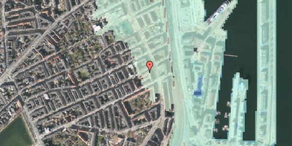 Stomflod og havvand på Willemoesgade 74, 1. 4, 2100 København Ø
