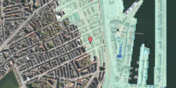 Stomflod og havvand på Willemoesgade 74, 5. th, 2100 København Ø