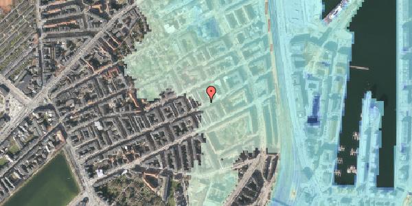 Stomflod og havvand på Willemoesgade 75, 5. tv, 2100 København Ø