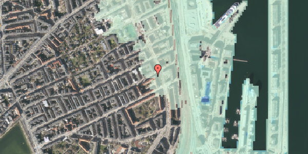 Stomflod og havvand på Willemoesgade 76, st. tv, 2100 København Ø